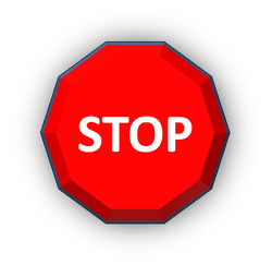 LMS Stop sign