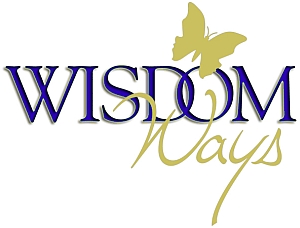 Wisdomways Logo blue gold