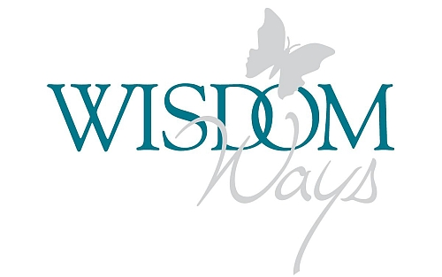 WisdomWays logo teal grey
