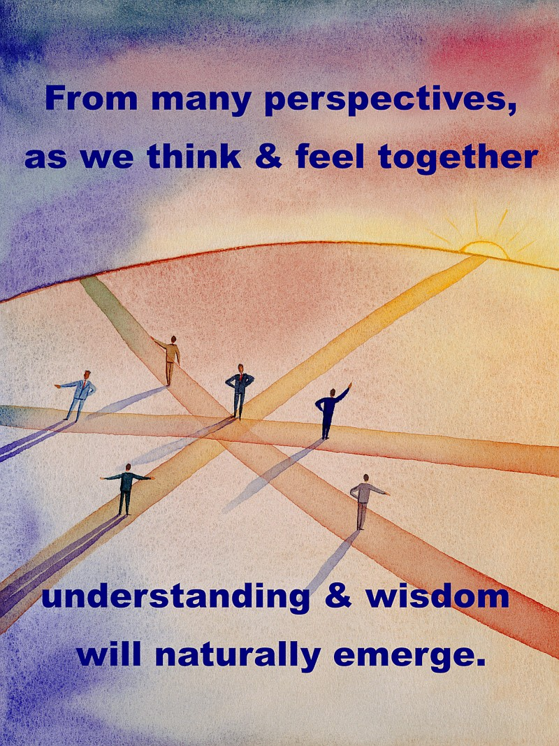 Bohmian Dialogue - understanding perspectives