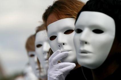Masked people