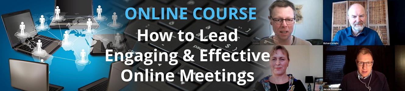 E-Course - How to Lead Engaging and Effective Online Meetings
