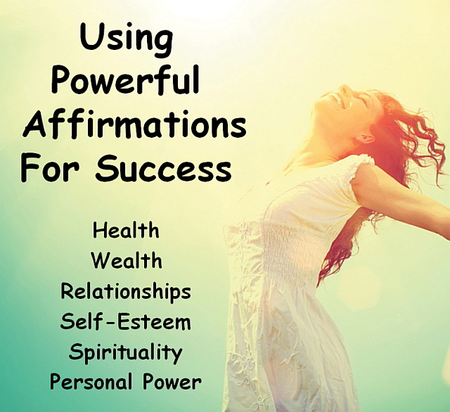 Powerful Affirmations for Success