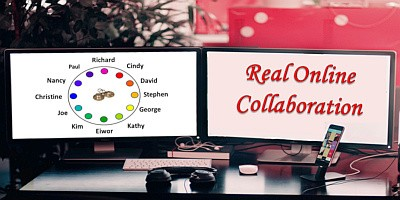 Real online collaboration