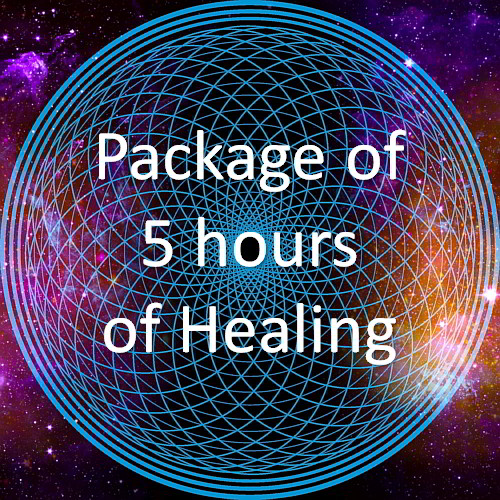 WisdomWays package of 5 healing hours with Richard